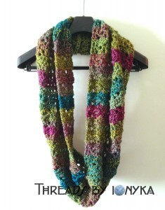 Finished CroCreations Scarf