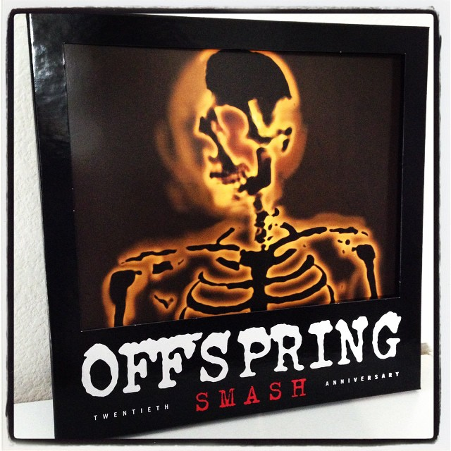 Excited for the show tonight at #ShorelineAmp!! My favorite band playing my favorite album on my birthday weekend along with Bad Religion & Pennywise!?!? ...best present ever!!! #punkrockpicnic #offspring #smash20 #mybirthday