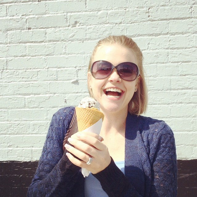 I'm obsessed with this ice cream...can you tell!? :) #icecream #daveandandys #pittsburgh #instafood #cookiesandcream #wafflecone