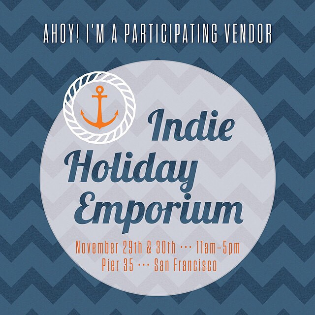 Save The Date!! The @sfetsy #IndieHolidayEmporium coming this November! #shopetsy #shoplocal #california #epicsale #savethedate #holidaysale