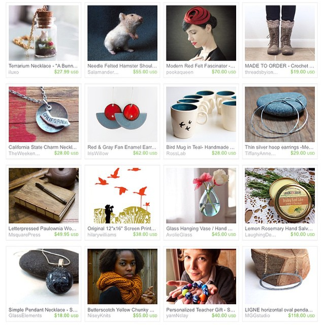 Thanks @tickleandsmash for such an elegant treasury! #IHESF2014 #sfetsy #EtsyTreasury #shopetsy #sf #california #holiday #etsy  T'was the night before Christmas, when all through the house, not a creature was stirring, not even a mouse.  #ShopSmall Bay Area  Indie Holiday Emporium Nov 29/30  Pier 35 San Francisco