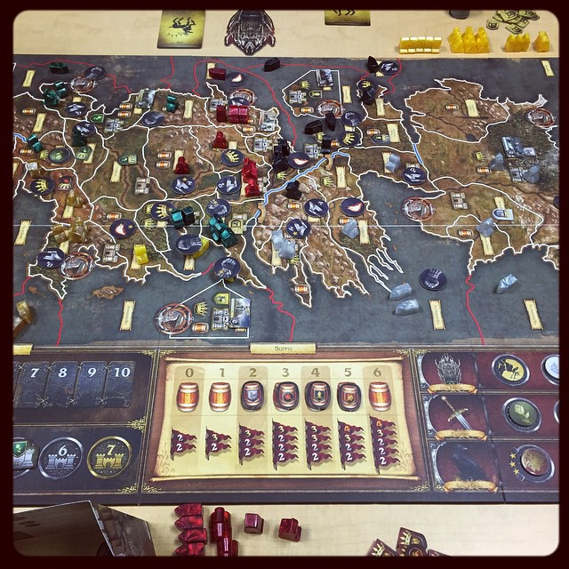 Strategery at its finest :) #gameofthrones #got #boardgames #gamenight #lannistersrule