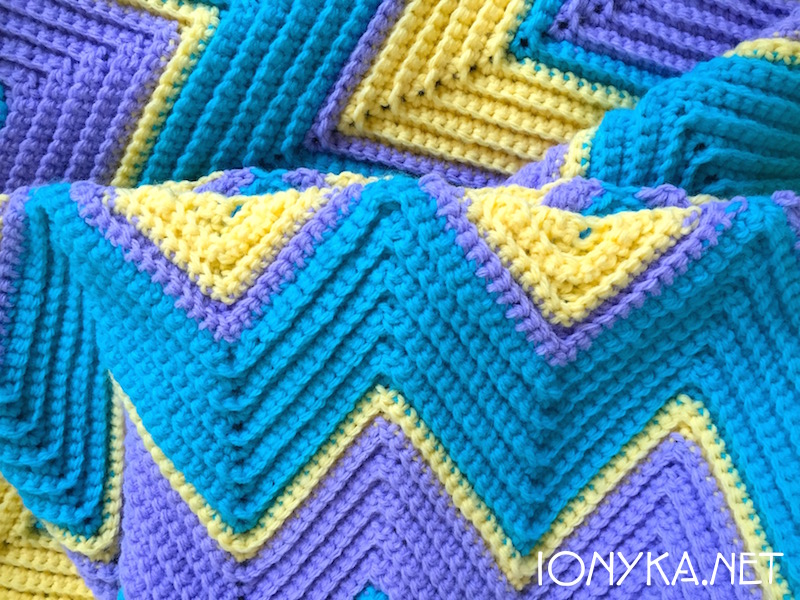 Threads by ionyka - Chevron Blanket10