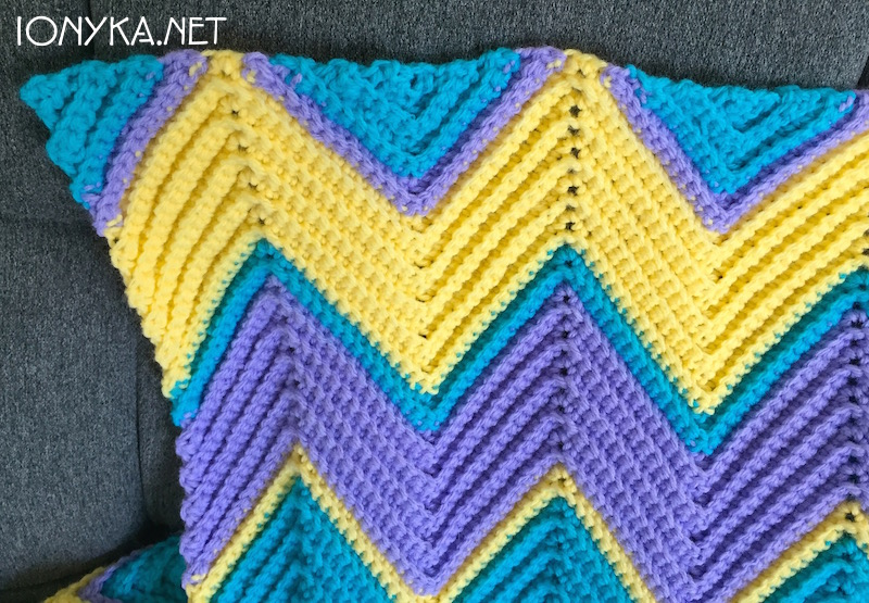 Threads by ionyka - Chevron Blanket11