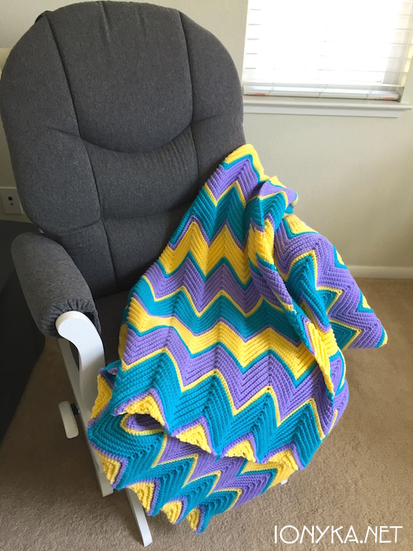 Threads by ionyka - Chevron Blanket12
