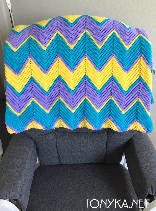 Threads by ionyka - Chevron Blanket8