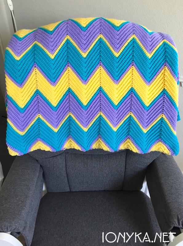 Threads by ionyka - Chevron Blanket8