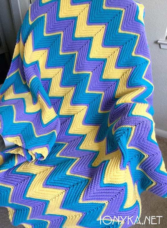 Threads by ionyka - Chevron Blanket9