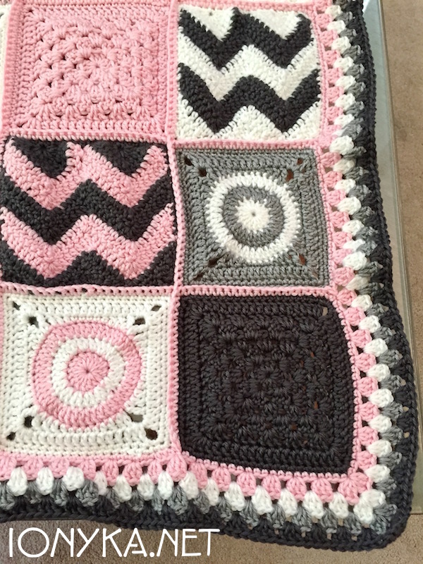 Threads by ionyka - Baby Squares Blanket2
