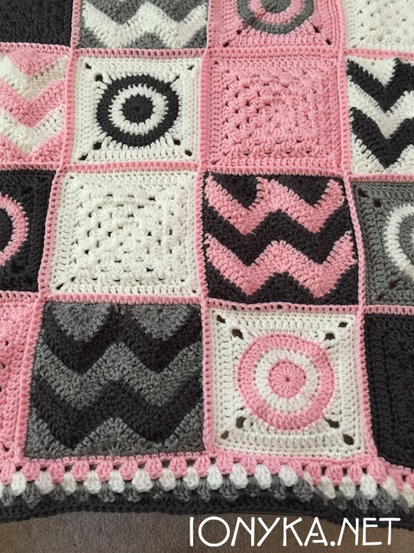 Threads by ionyka - Baby Squares Blanket3
