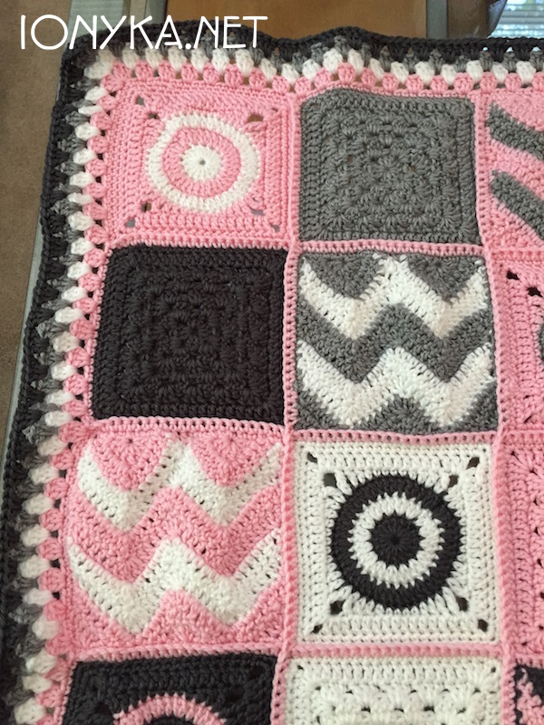 Threads by ionyka - Baby Squares Blanket4