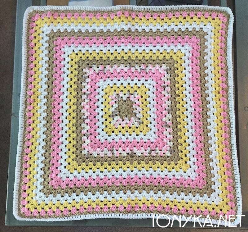 Threads by ionyka - Granny Square Gift Blanket1